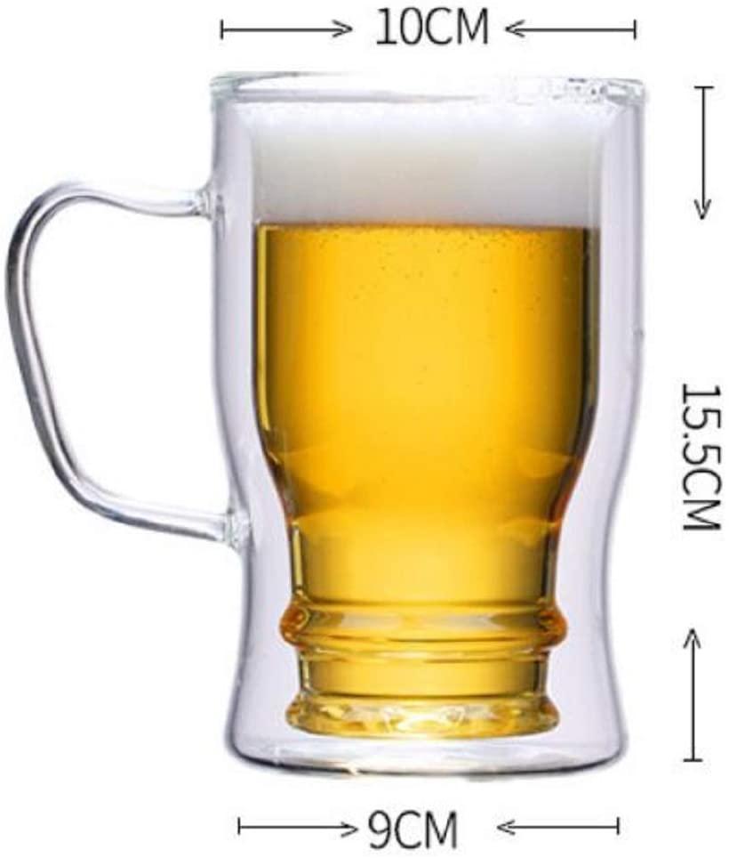 morningplace(モーニングプレイス) ビール ジョッキ  (350ml&550ml 2個セット)の商品画像5