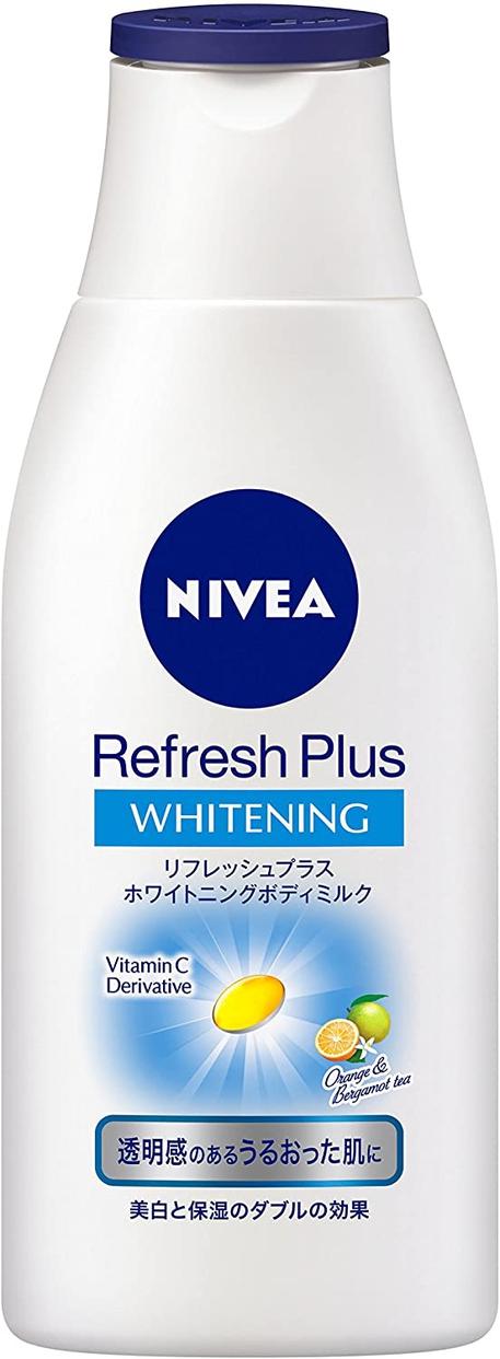 NIVEA(ニベア) リフレッシュプラス ホワイトニング ボディミルクの商品画像