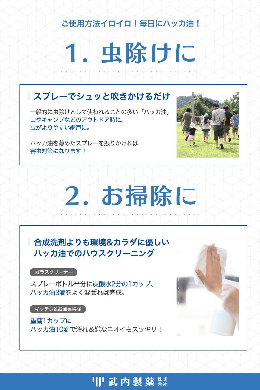 武内製薬(タケウチセイヤク) ハッカ油の商品画像5