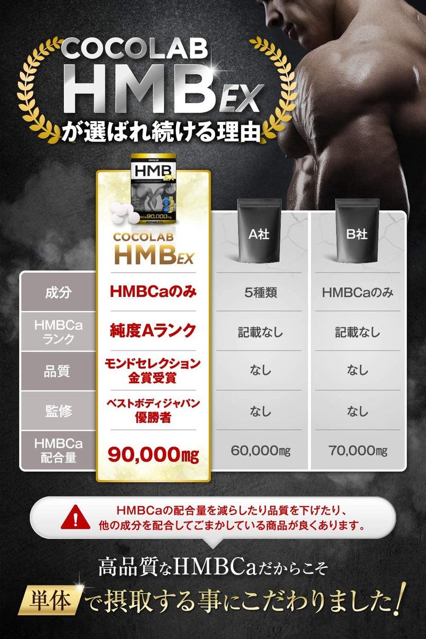 COCOLAB(ココラボ) HMB EXの商品画像4
