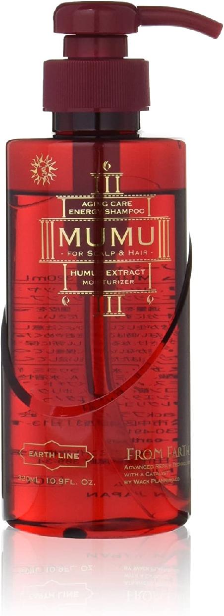 FROM EARTH(フロムアース) エナジーシャンプー ムウム ボトルの商品画像