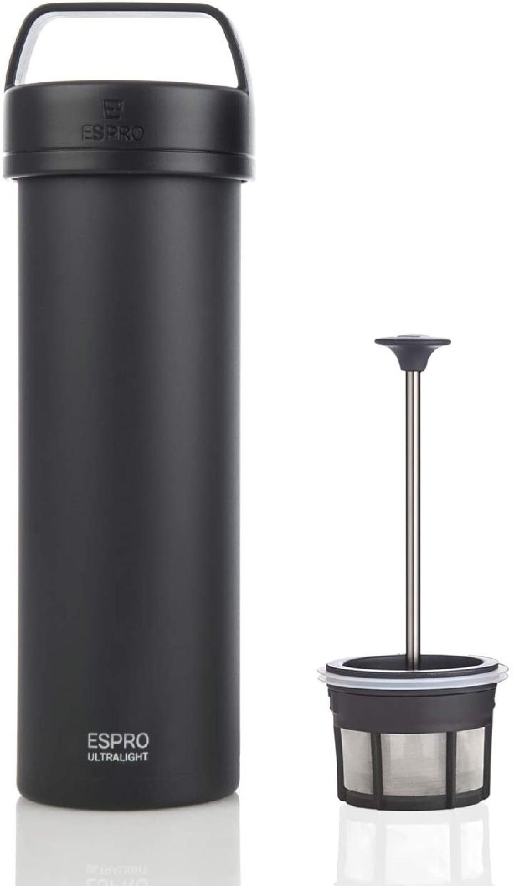 ESPRO(エスプロ) コーヒープレス ブラック 473ml 超軽量 ウルトラライト 02830176の商品画像
