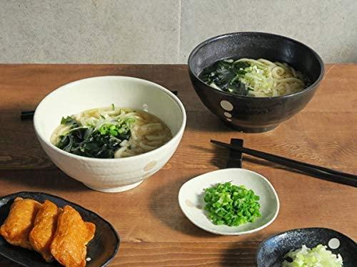TABLE WARE EAST.(テーブルウェアイースト) 和食器 水玉 さぬきどんぶり (大)白の商品画像5