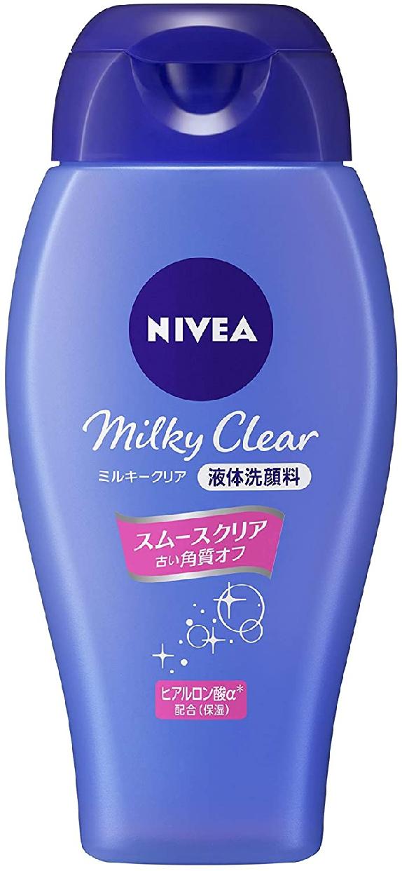 NIVEA(ニベア) ミルキークリア洗顔料