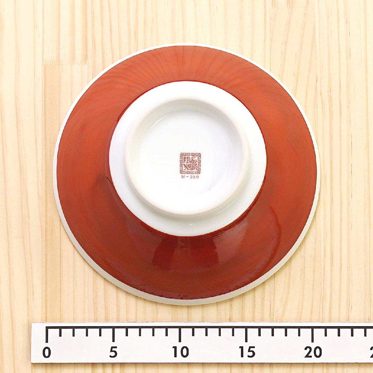 結彩の蔵 赤巻三ツ竜 6.3寸 切立丼 ト682-097 赤の商品画像4