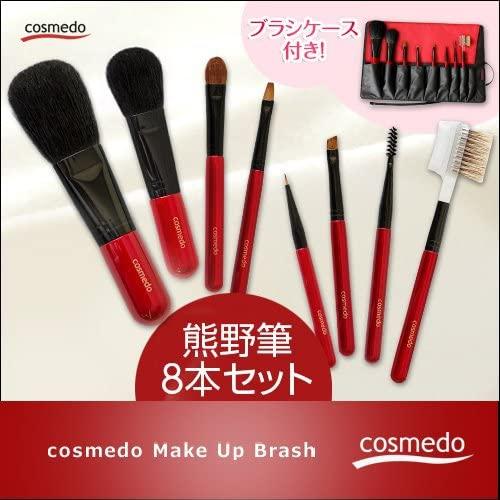 匠の化粧筆コスメ堂 熊野筆 トゥルーセレクション 8本セットの商品画像7