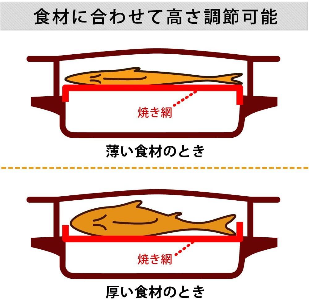 IRIS OHYAMA(アイリスオーヤマ) マルチロースター EMT-1101の商品画像6