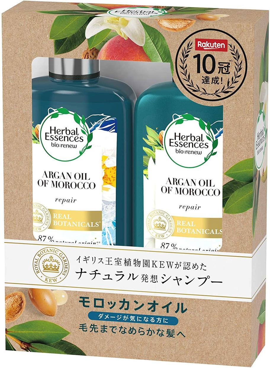 Herbal Essences(ハーバルエッセンス)ビオリニュー モロッカンオイル シャンプー+コンディショナー
