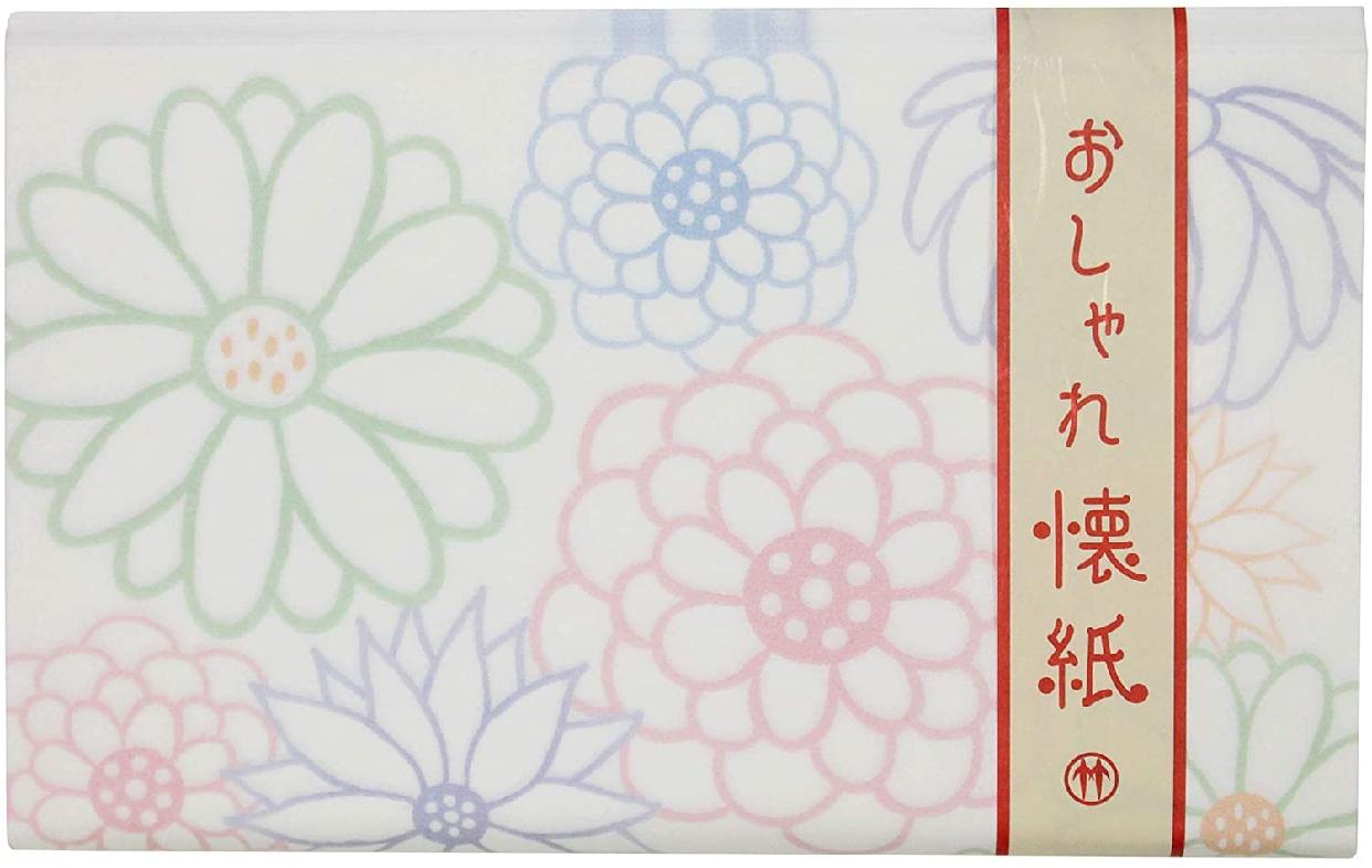 クロチク おしゃれ懐紙 菊 白の商品画像