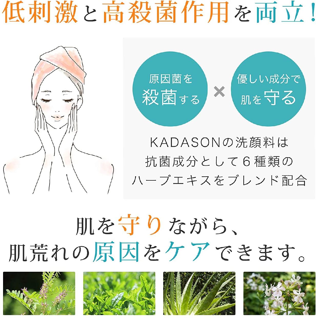 KADASON(カダソン) スキンケア 洗顔フォームの商品画像3