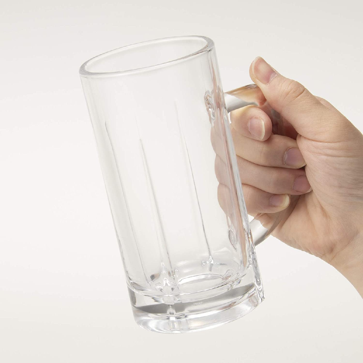 トウヨウササキガラス ビールジョッキ 340ml 55483の商品画像5