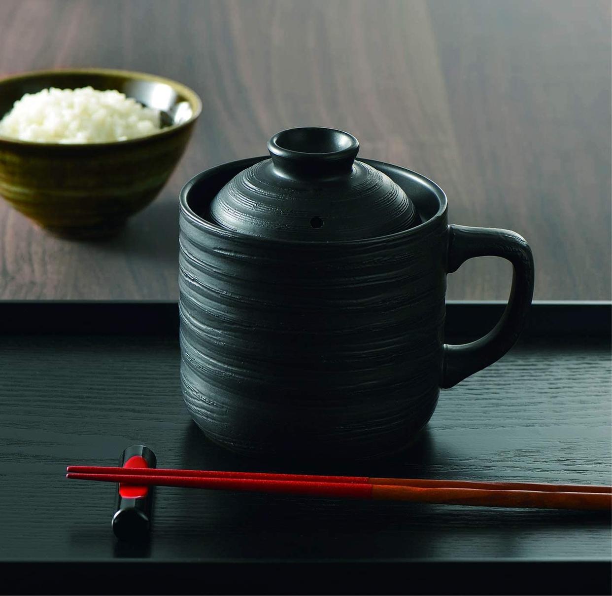 カクセー 電子レンジ専用炊飯陶器 楽炊御膳 T-01Bの商品画像3