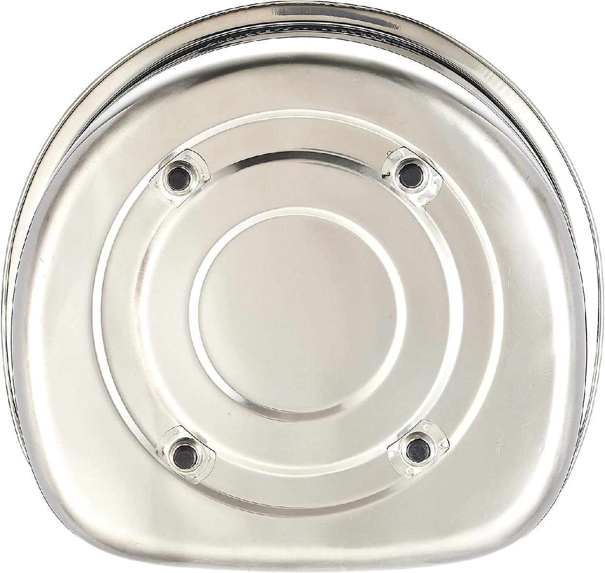 貝印(KAI) 洗い桶 D型 脚高ゴム付 DZ1141 ステンレスの商品画像4