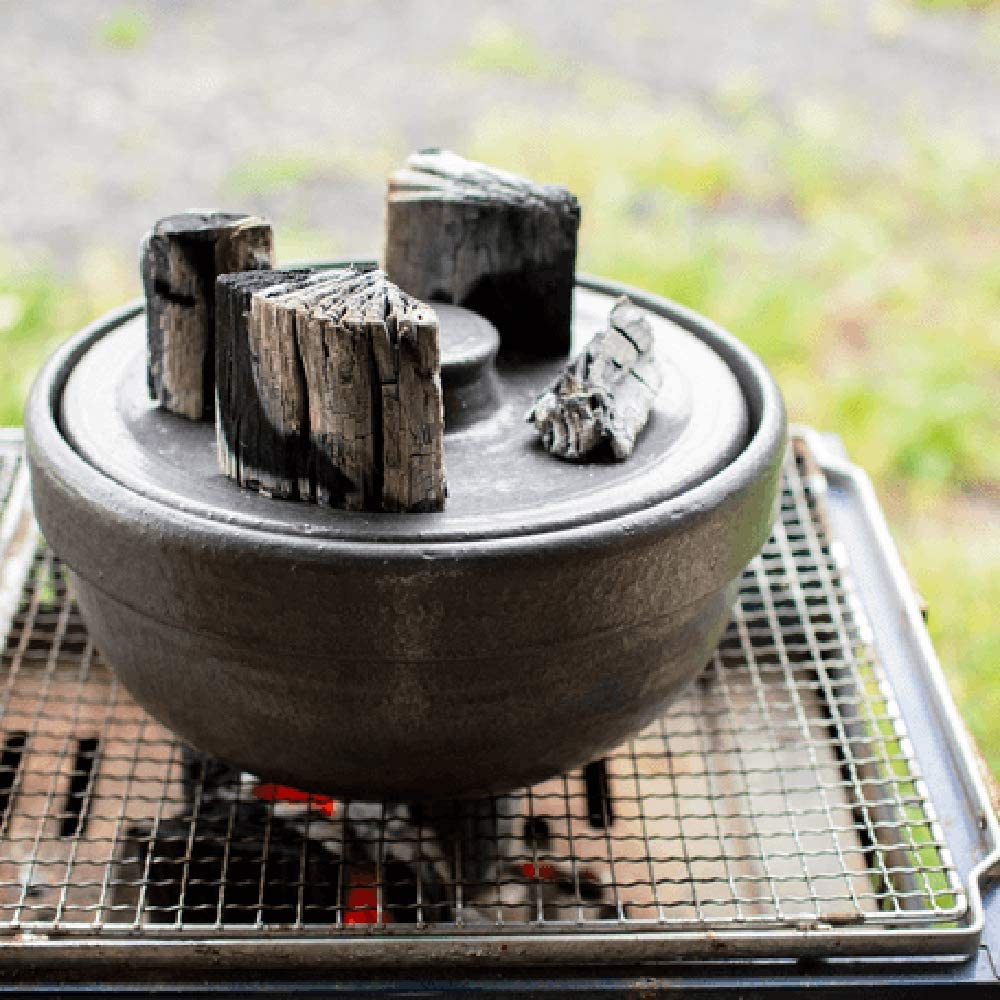 男厨 無水土鍋 ブラック NAZ-01の商品画像8