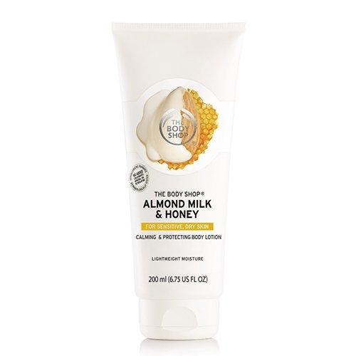 THE BODY SHOP(ザ・ボディショップ)ボディローション AM&H (アーモンドミルク&ハニー)の商品画像