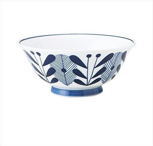 KitchenMartD-まちのうつわ屋さん- オーランド うすかる  麺鉢 19cm 藍色の商品画像