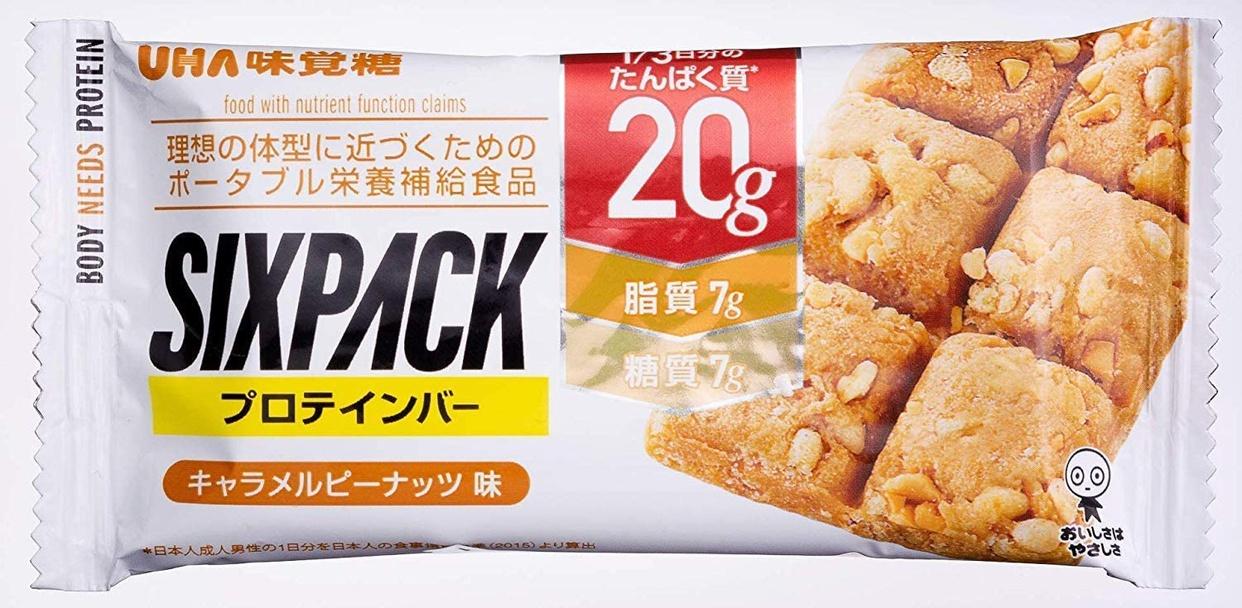 UHA味覚糖 SIXPACK プロテインバーの商品画像