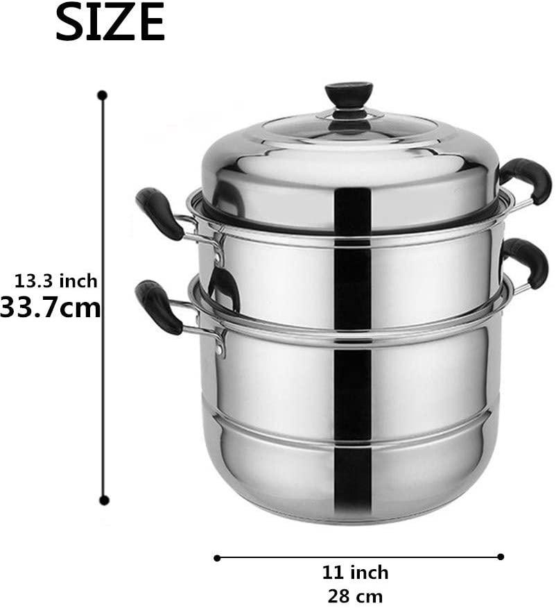 Minsell 蒸しもの鍋の商品画像3