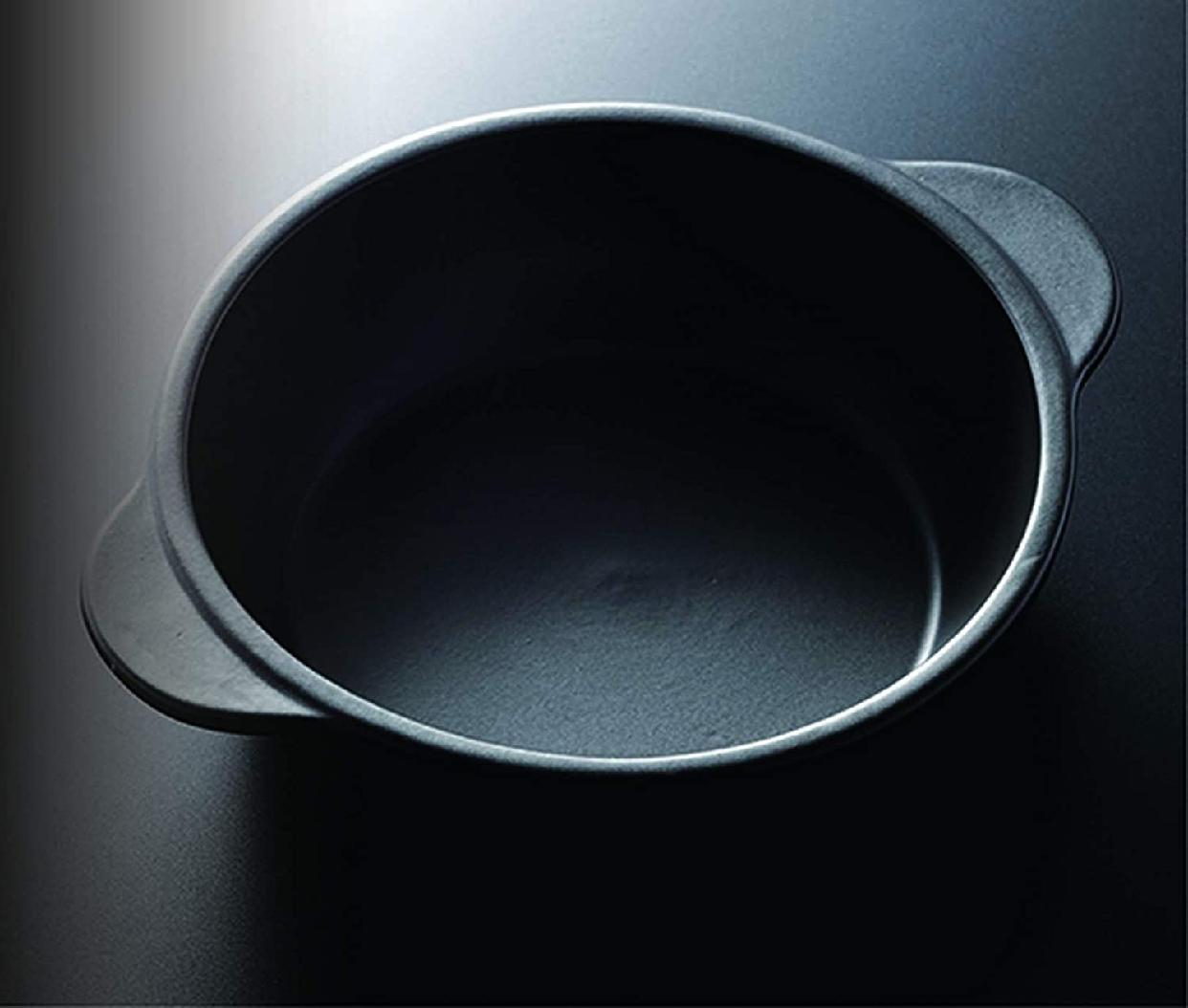 Graceramic(グレイスラミック) 陶製深型両手スキレットパン 17cmの商品画像