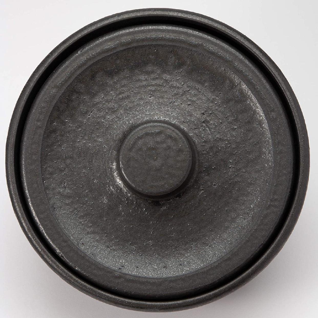 男厨 無水土鍋 ブラック NAZ-01の商品画像3