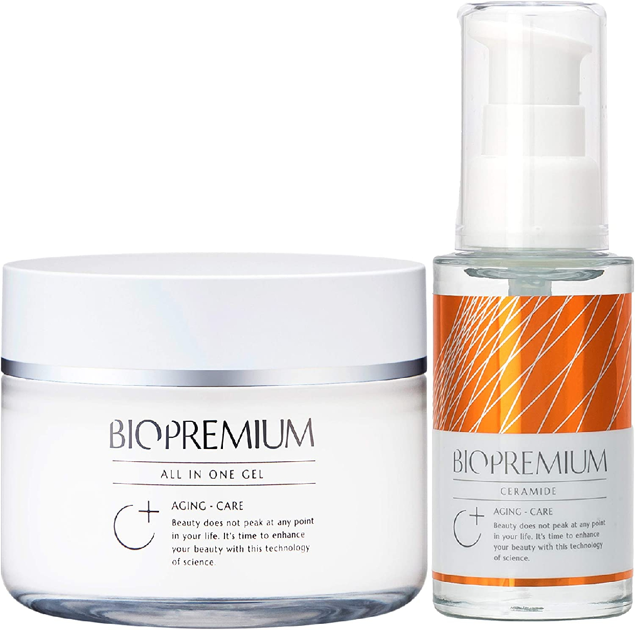 BIOPREMIUM(バイオプレミアム)オールインワンジェル+原液美容液 セット