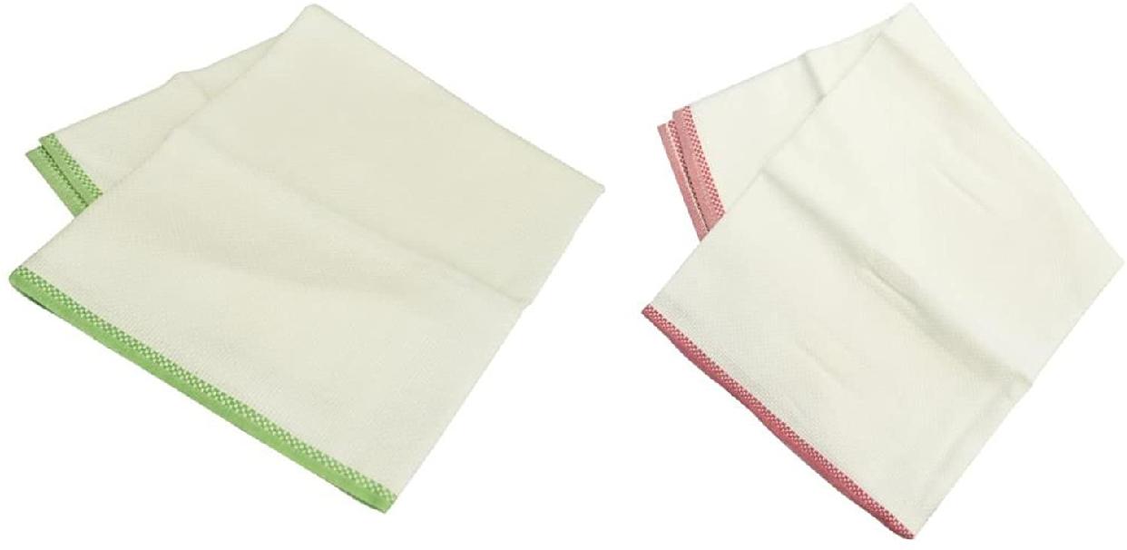 日東紡績(ニットーボー)日東紡の新しいふきん 2枚組 白の商品画像5