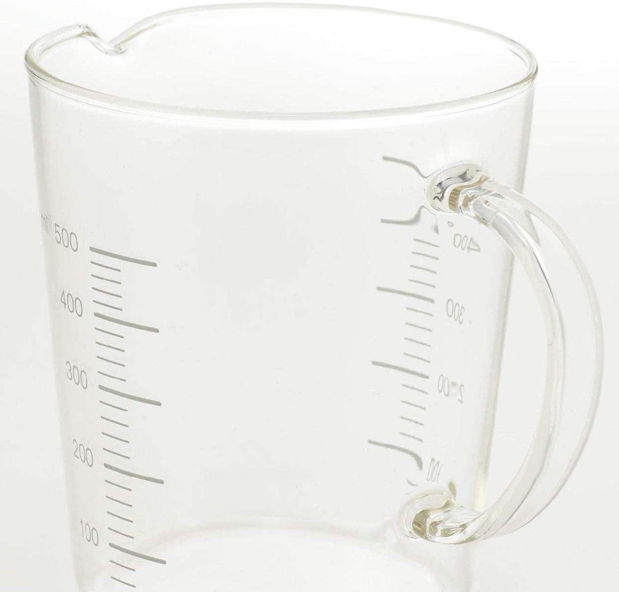 無印良品(MUJI) 耐熱ガラスメジャーカップ 500mlの商品画像2
