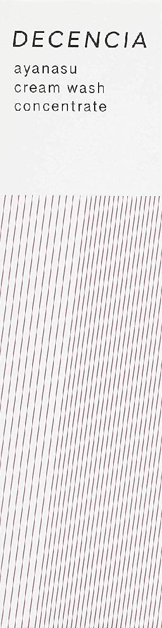 DECENCIA(ディセンシア) アヤナスクリームウォッシュ コンセントレートの商品画像7