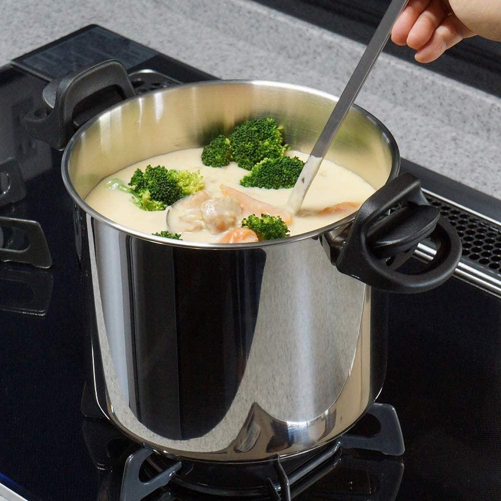 Wonder chef(ワンダーシェフ)パスタポット IH対応 20cm 5.3L 20-Gの商品画像5