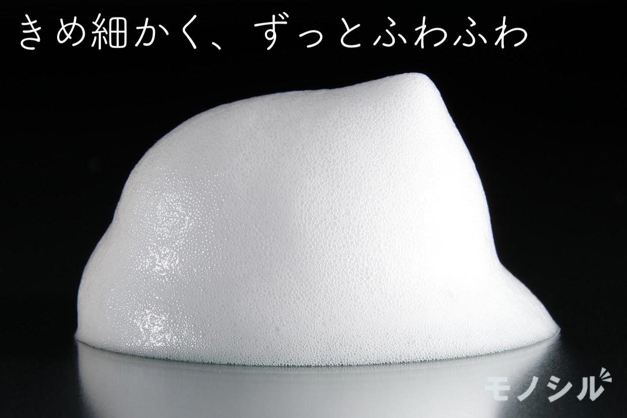 Curél(キュレル) 泡洗顔料の商品画像4 商品で作った泡とその説明