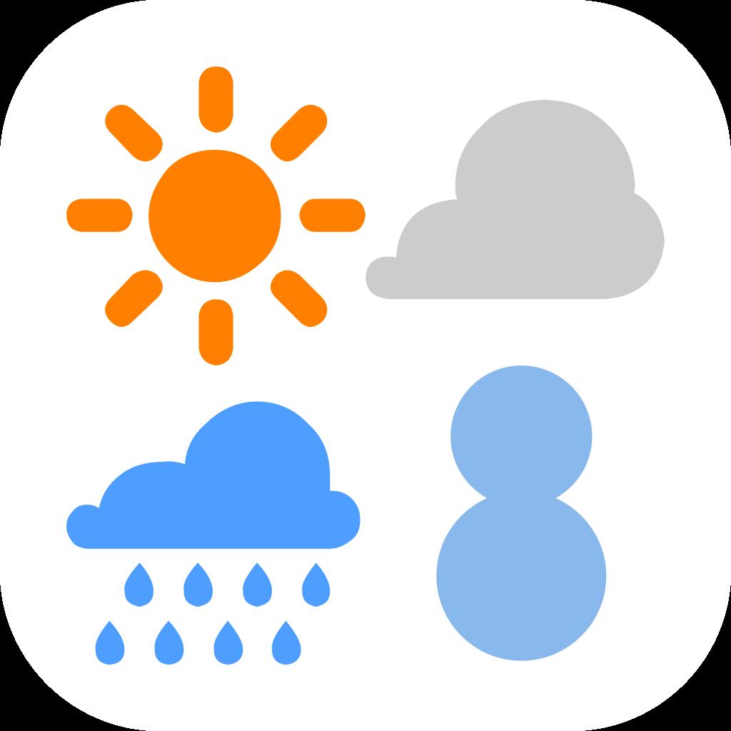 ウェザーニューズ らくらく天気予報の商品画像