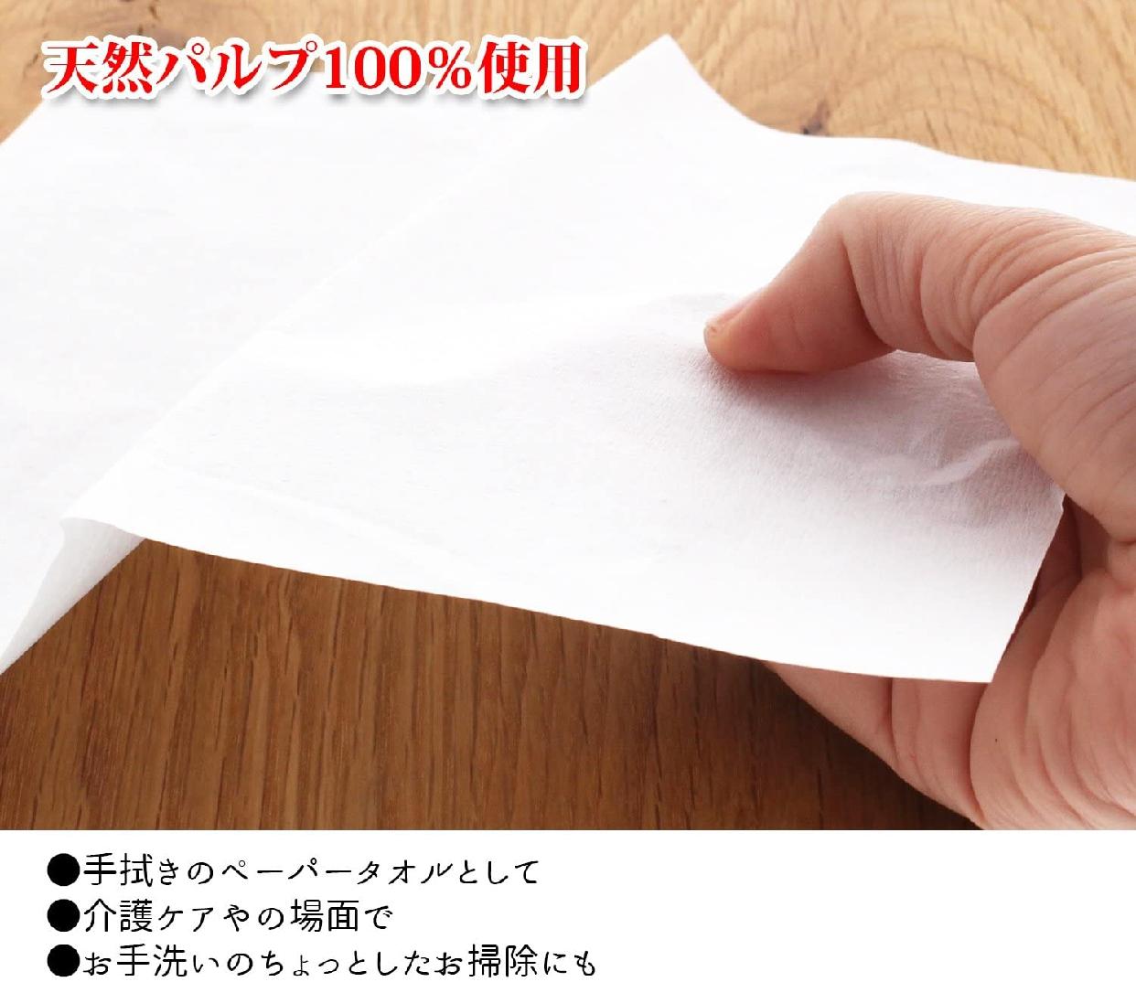トライフ トイレに流せる! ペーパータオル 200枚入×5パックの商品画像6