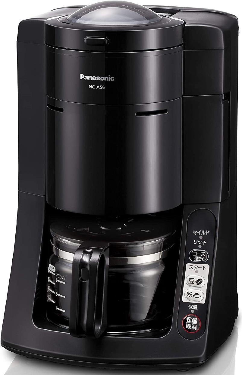 Panasonic(パナソニック) 沸騰浄水コーヒーメーカー NC-A56-Kの商品画像