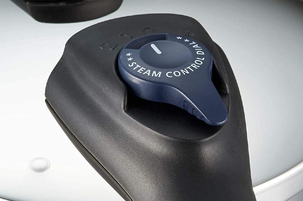 パール金属(PEARL) クイックエコ 3層底切り替え式圧力鍋 H-5040の商品画像8