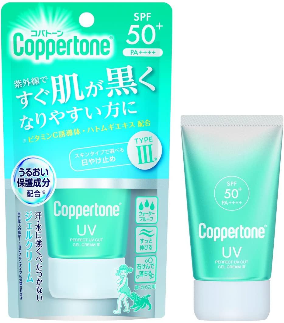 Coppertone(コパトーン)パーフェクトUVジェルクリーム Ⅲの商品画像