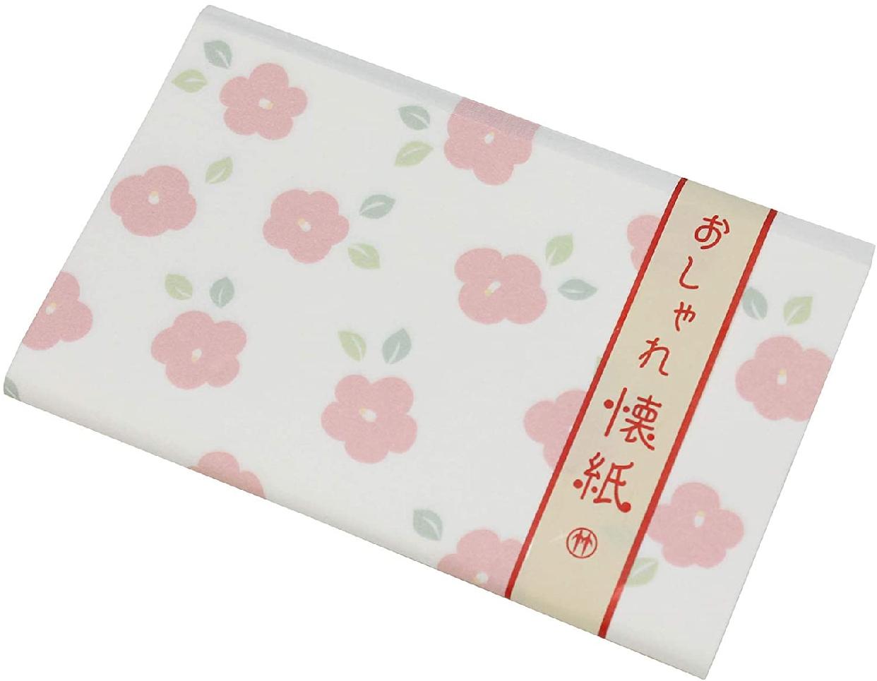 クロチク おしゃれ懐紙 椿 71306711 白の商品画像2