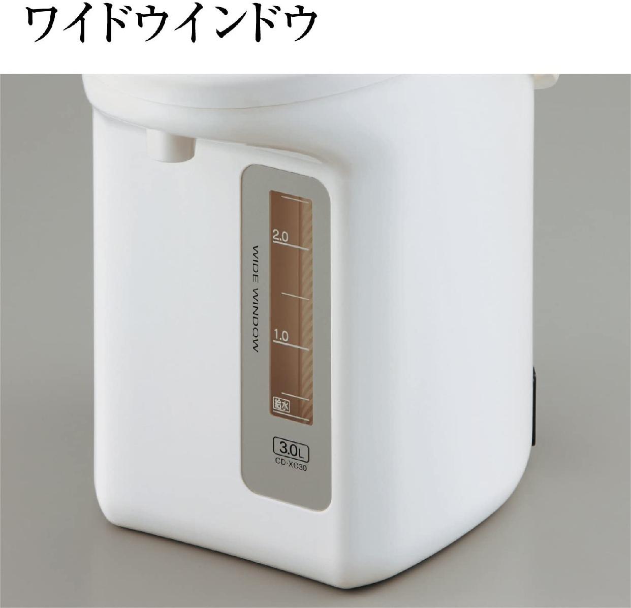象印(ぞうじるし)マイコン沸とう電動ポット CD-WU30の商品画像5
