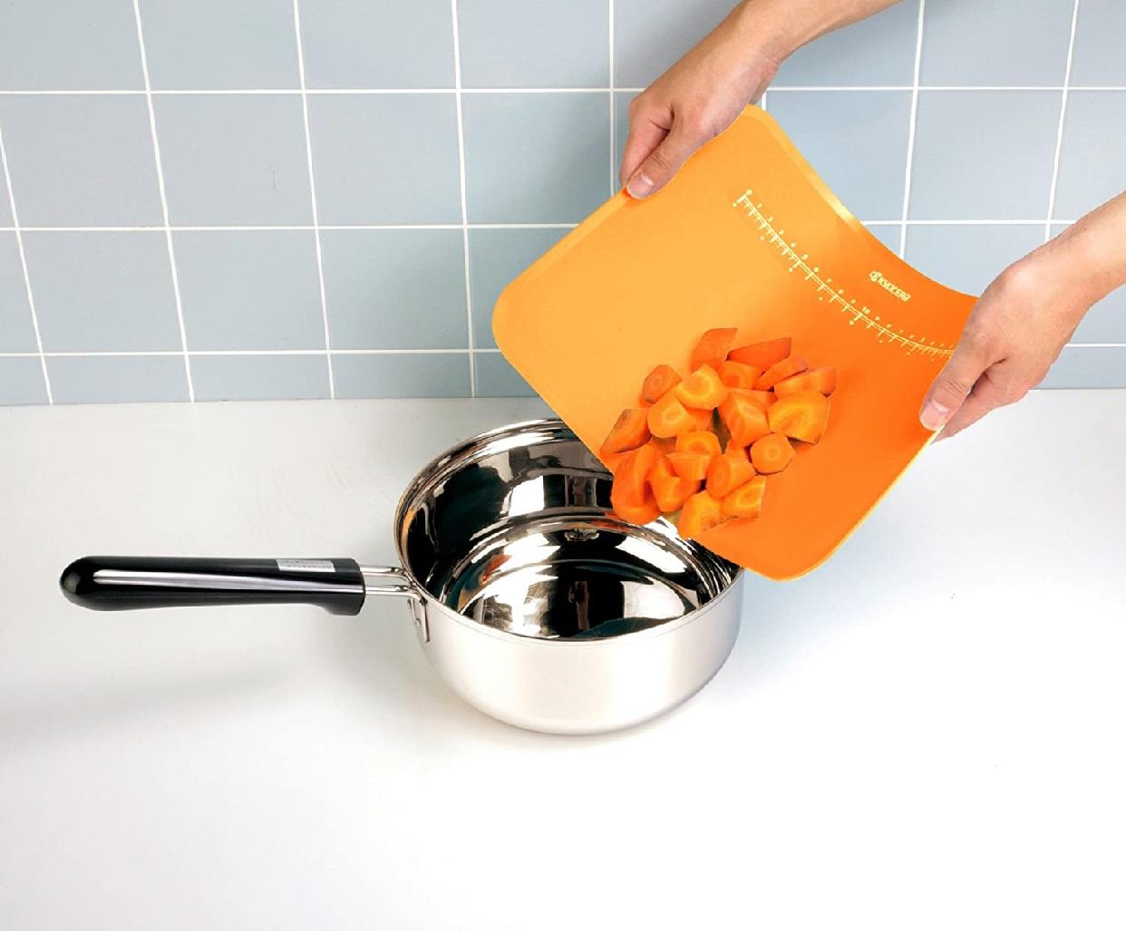 カラフルキッチンカラーまな板  CC-99 オレンジの商品画像2