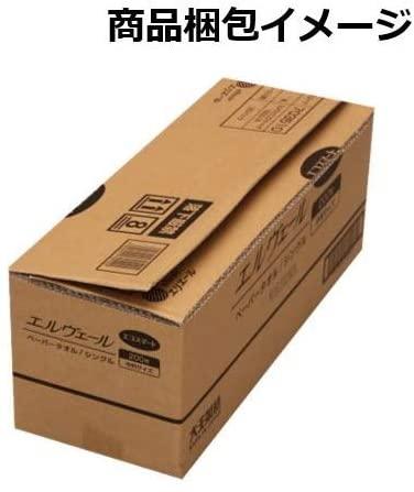 エルヴェール ペーパータオルエコスマート シングル200枚(中判)20袋の商品画像3