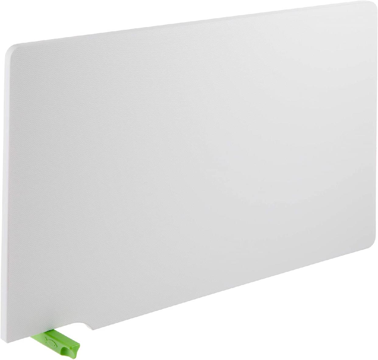 TONBO(トンボ)シンク抗菌まな板 スタンド付 ホワイト&グリーンの商品画像3