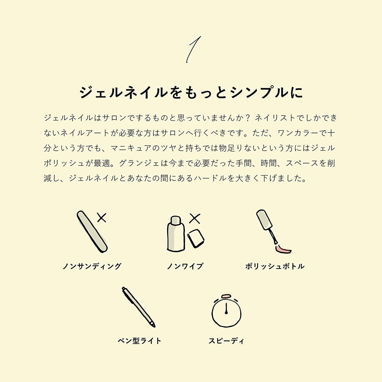 GRANJE(グランジェ) ジェルポリッシュセットの商品画像3