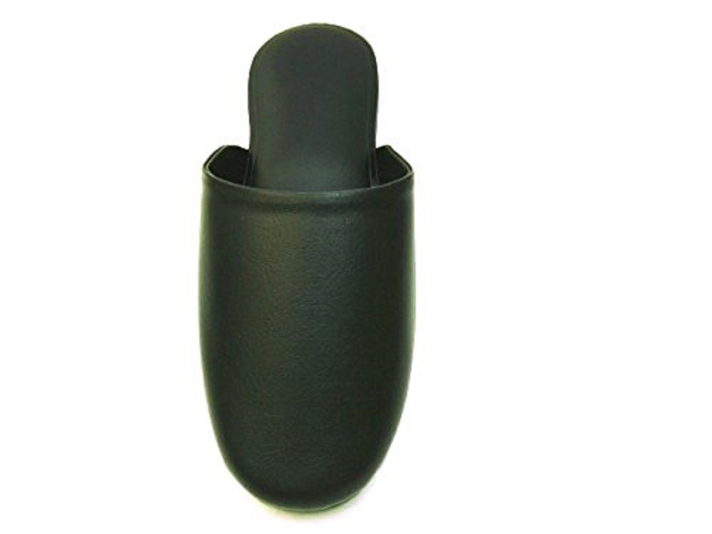 Furfurmouton(ファーファームートン) 抗菌レザー調スリッパ 抗菌加工済みの商品画像2