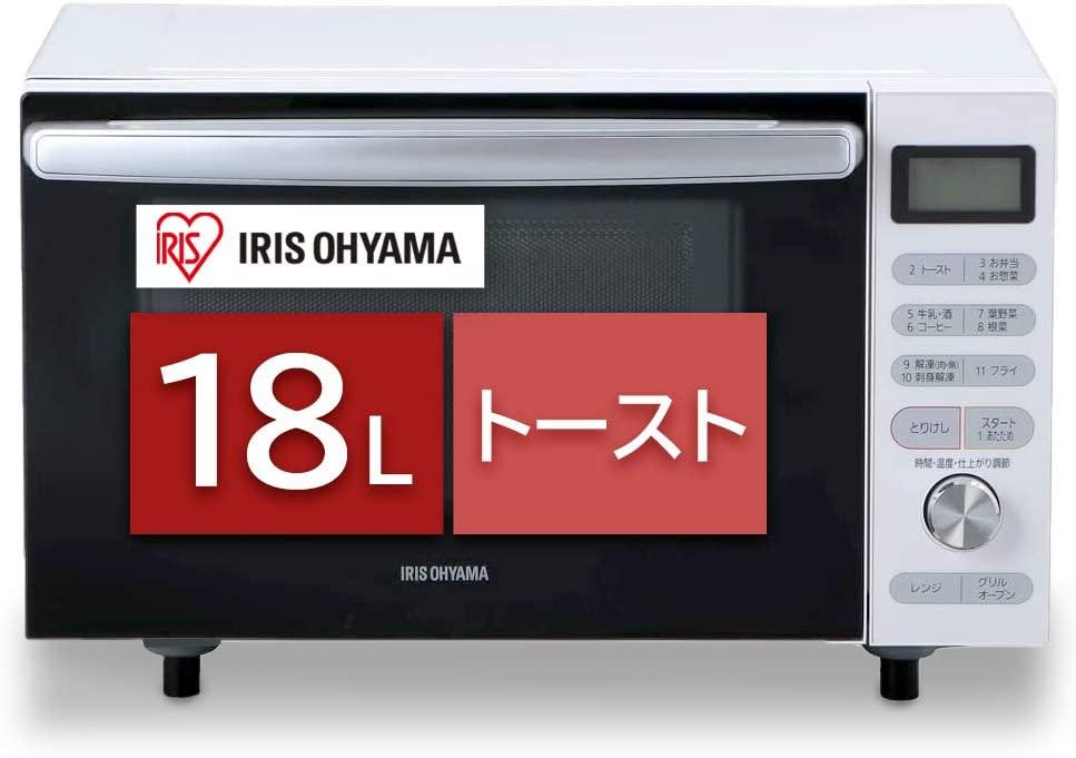 IRIS OHYAMA(アイリスオーヤマ) オーブンレンジ MO-F1805の商品画像