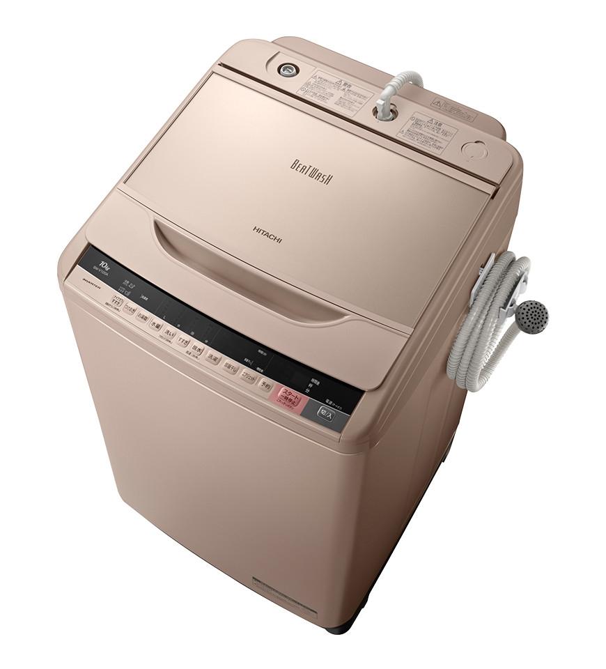 日立(HITACHI) ビートウォッシュ 全自動洗濯機 BW-V100A