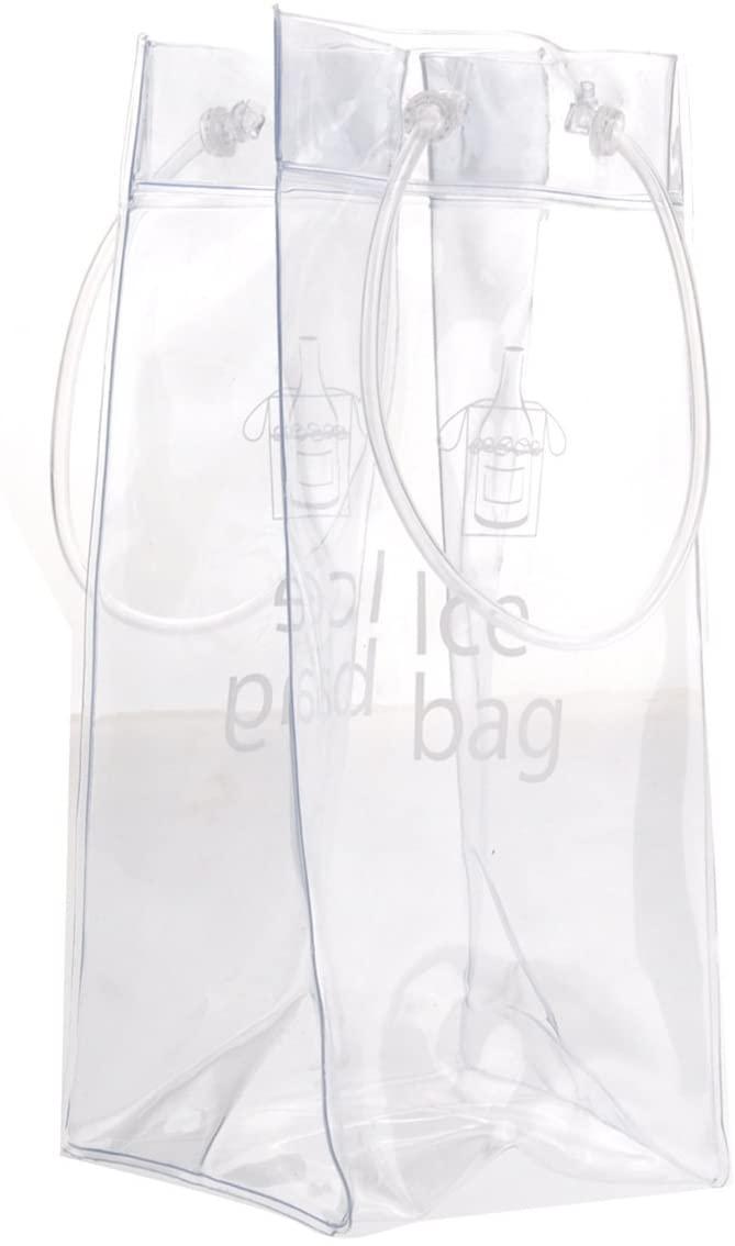 ROSENICE(ロゼニス) ハンドル付き クーラーワインバッグ クリアの商品画像2
