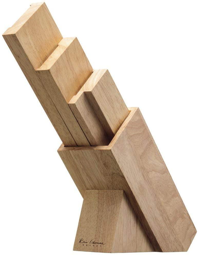 貝印(KAI) KHS 木製ナイフブロック ブラウン AP5321の商品画像2