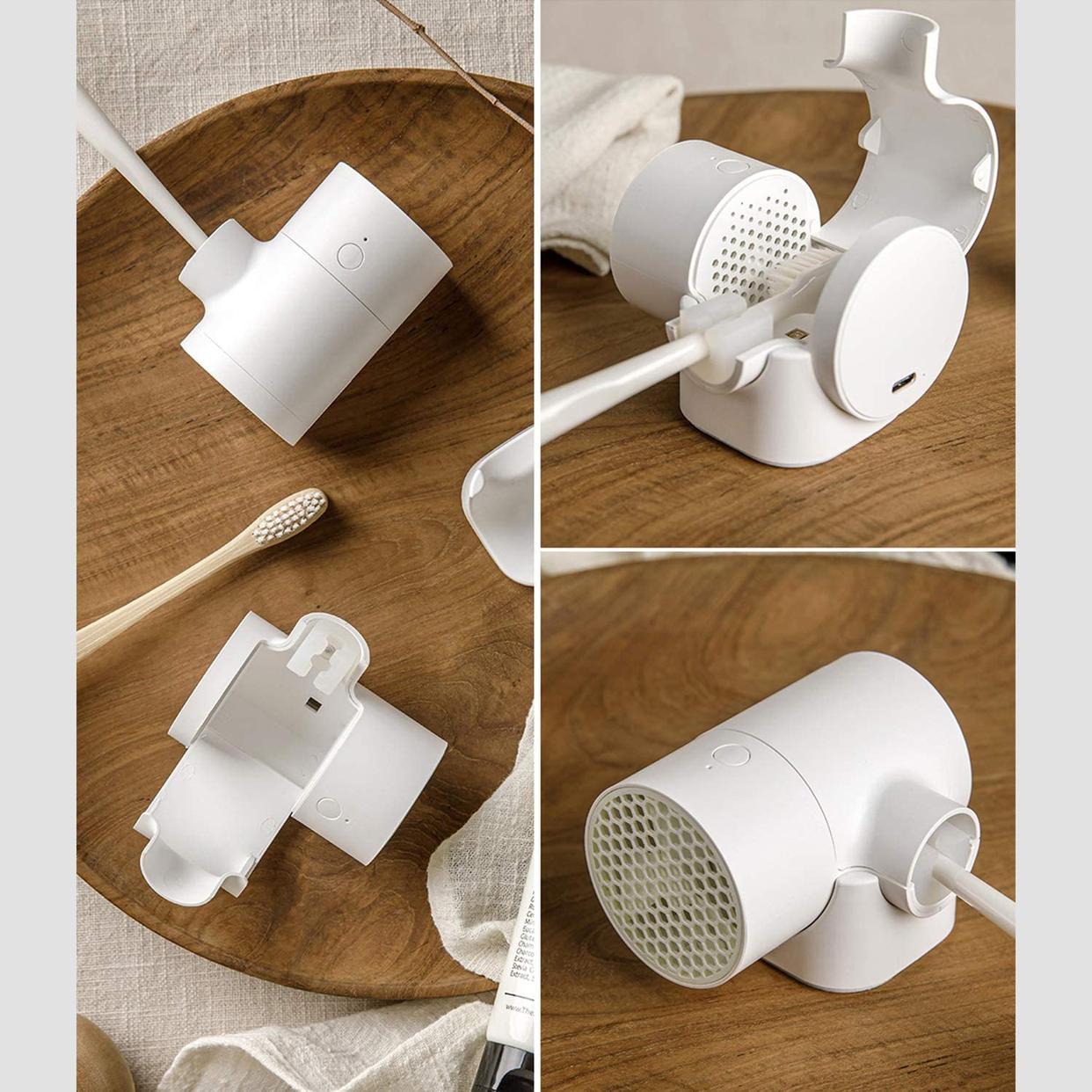 CLEAND(クリーンディー) 歯ブラシUV除菌乾燥機 T-dryer CL-401の商品画像6