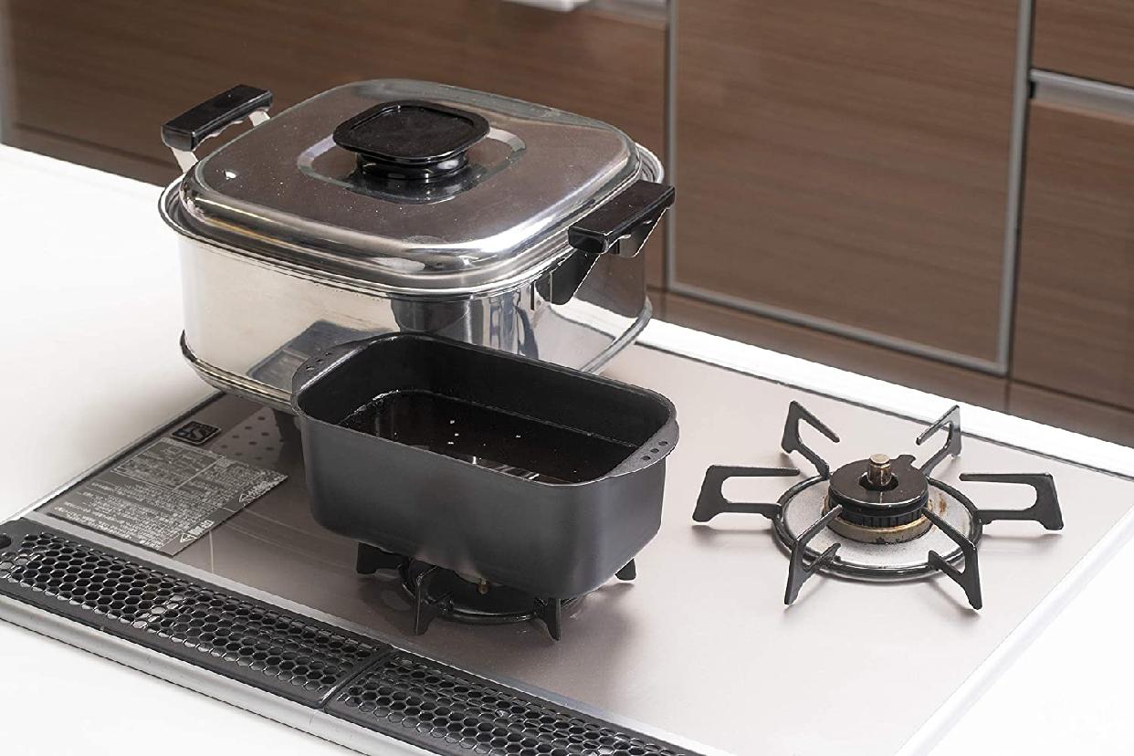 ヒロショウミニミニ天ぷら角型 バット付 ブラック MTS-SB3の商品画像6