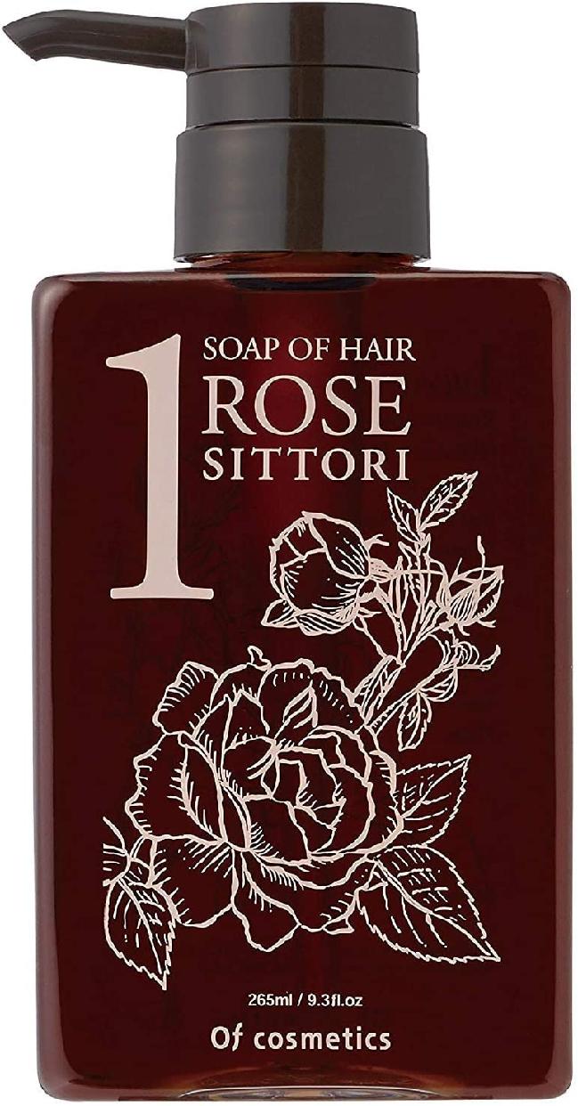 Of cosmetics(オブ・コスメティックス) ソープオブへア・1-ROシットリ スタンダードサイズ(ローズの香り)