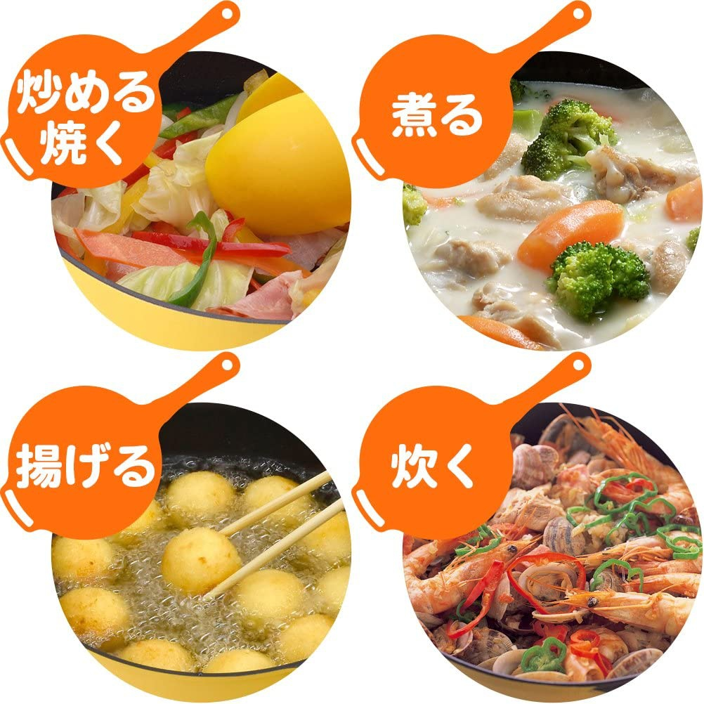 Remi♪Hirano(レミ・ヒラノ)レミパン RHF-201 オレンジの商品画像7